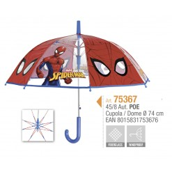 PARAPLUIE ENFANT TRANSPARENT SPIDERMAN
