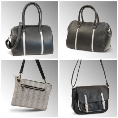 ENSEMBLE SACS COLLECTION NOIR ET BLANC