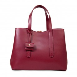 Sac Ordinateur May Bordeaux