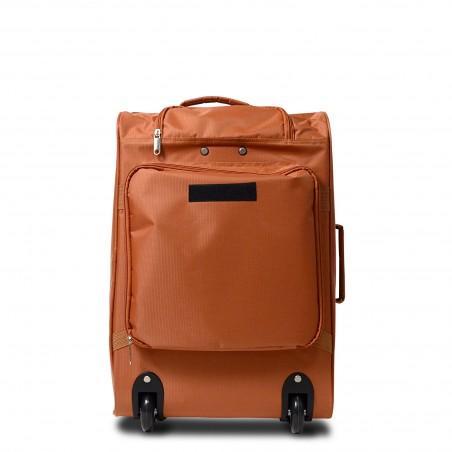 Sac à Dos convertible Bagage Trolley à roulettes Camel 50cm