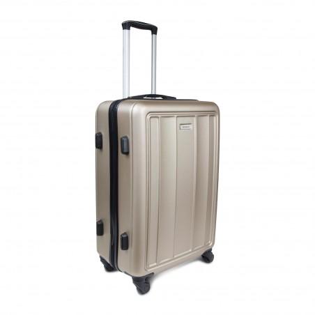 vente en gros Set 3 valises rigides ABS coloris Champagne