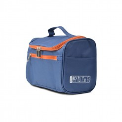 Trousse de toilette sport BLEU/ORANGE - pendable