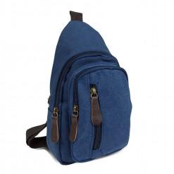 Sacoche Holster Homme Textile Bleu
