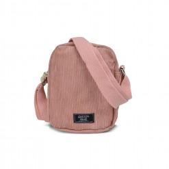 Petite sacoche velours -18cm ROSE