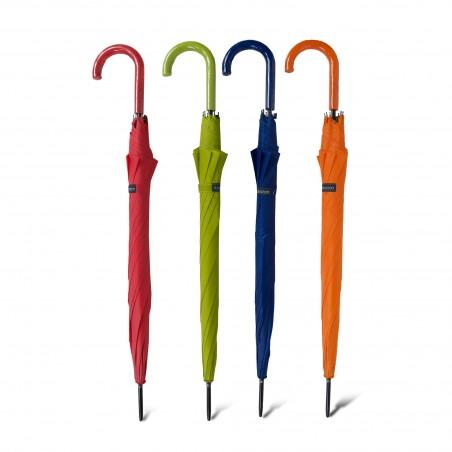 parapluies cannes unis couleurs flashy