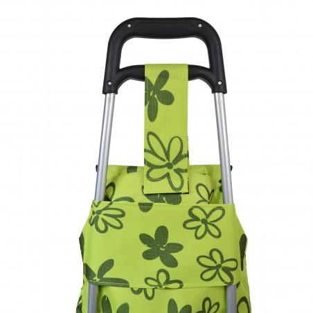 Flower Power - Vert - Chariot de course petit modèle Extra light